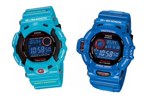 "CASIO G-SHOCK 2010 March Releases ""Men In Earth Blue"""