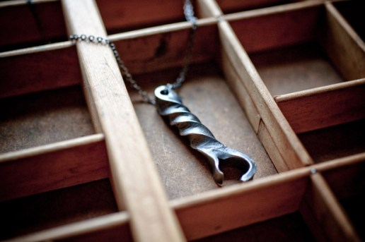 CXXVI Steel Bottle Opener Necklace