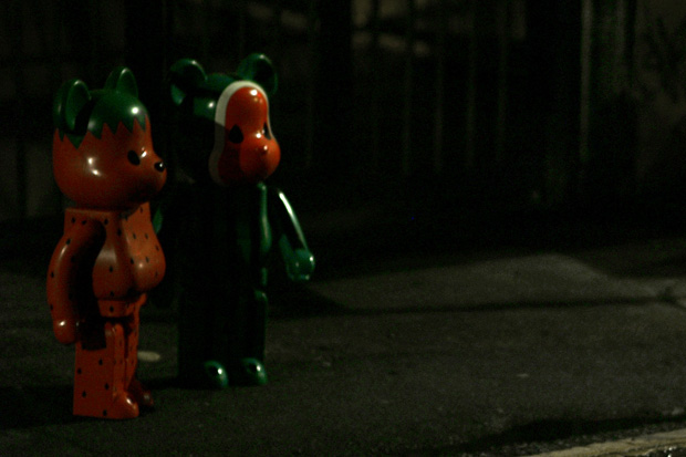 """CLOT x MEDICOM TOY 1000% """"Watermelon"""" and """"Strawberry"""" Bearbrick Preview"""