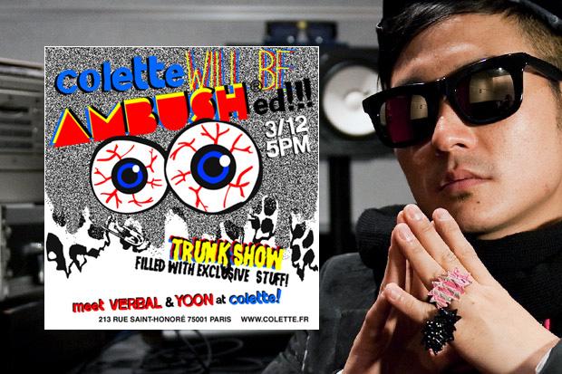 colette x AMBUSH Trunk Show