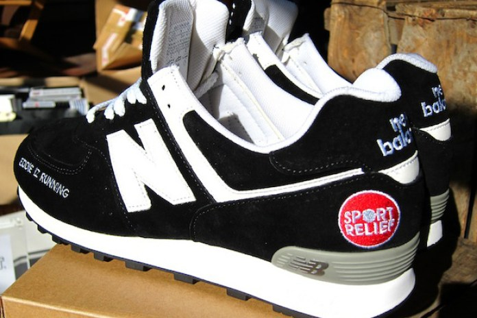 Eddie Izzard x New Balance 576 Custom