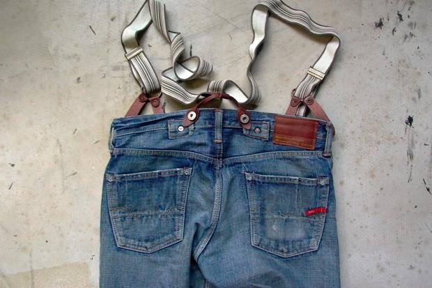 Edwin Vintage Collection Suspender Denim