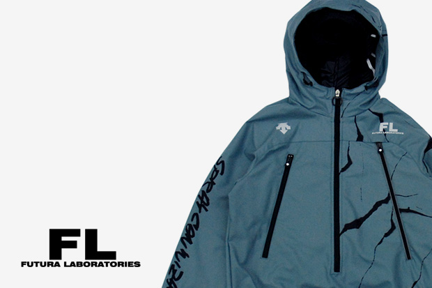 FUTURA LABORATORIES x DESCENTE 2010 Spring/Summer Pullover Jacket