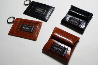 G1950 x Porter Crocodile Card Case & Coin Case