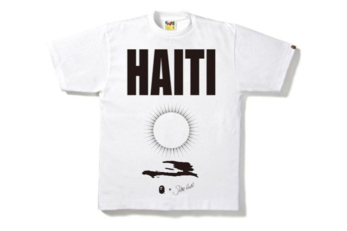 Gene Krell x A BATHING APE Haiti Charity T-Shirts