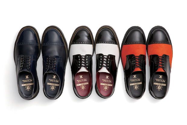 George Cox for NEXUSVII® Medallion Straight Chip Shoes