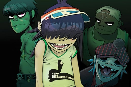 "Gorillaz feat. Mos Def and the Hypnotic Brass Ensemble - ""Sweepstakes"""