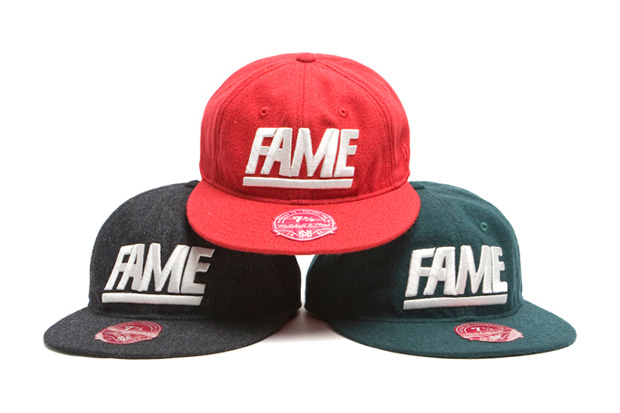 "Hall of Fame x Mitchell & Ness ""Fame"" Fitted Cap"