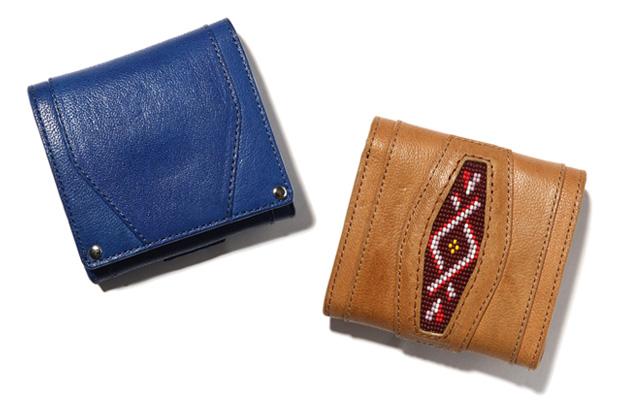 hobo Camel Leather Wallet