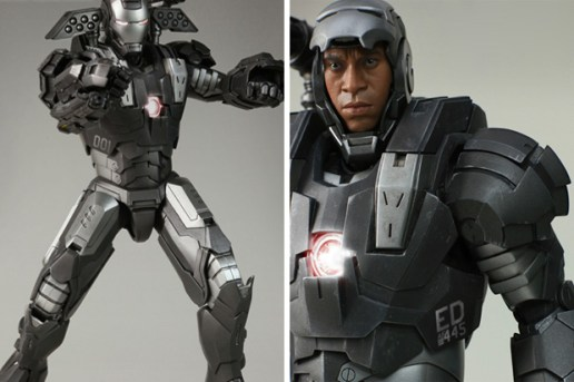 "Hot Toys Iron Man II ""War Machine"" Figure"