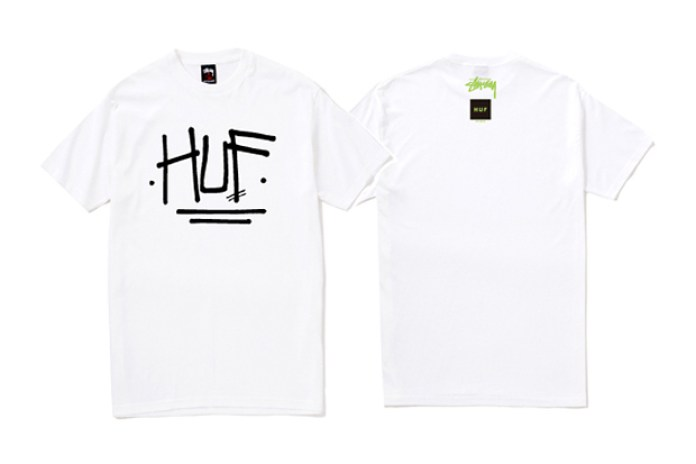 HUF x Stussy 2010 Spring Collection T-shirts