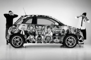 Hype Means Nothing x Fiat 500 by INTERSECTION