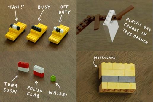 I LEGO N.Y. By Christoph Niemann