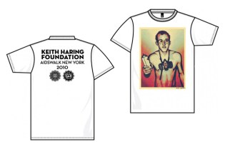 Keith Haring Foundation x AIDS Walk x OBEY T-Shirt