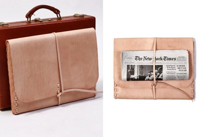 Kenton Sorenson Leather 15 inch Laptop Portfolio