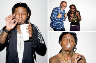 Lil' Wayne x Terry Richardson Photoshoot