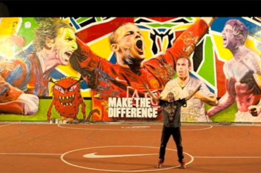 """MADSTEEZ """"Make the Difference"""" Mural"""