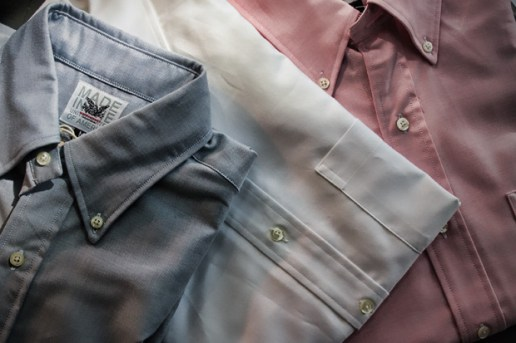 Mark McNairy 2010 Spring Oxford Shirts