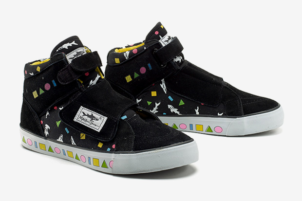 Maui and Sons Vintage High Top Sneakers