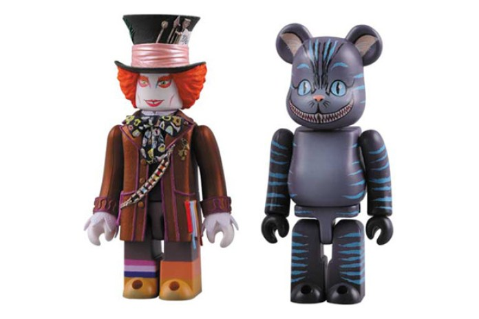 MEDICOM TOY KUBRICK Mad Hatter & BEARBRICK Cheshire Cat Set
