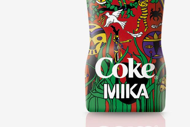 """MIKA for Coca-Cola """"Club Coke"""" Bottle"""
