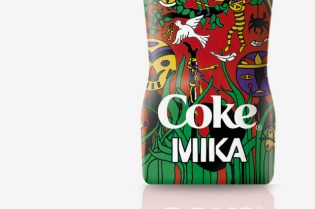 "MIKA for Coca-Cola ""Club Coke"" Bottle"