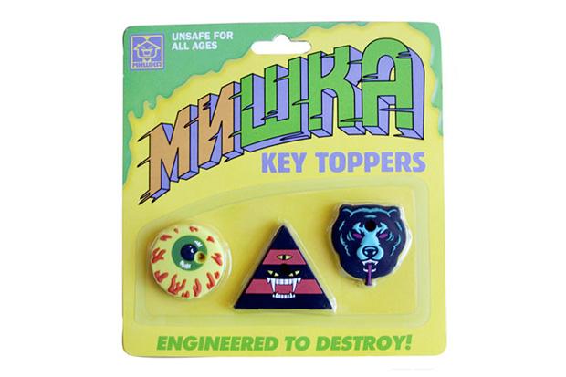 Mishka Key Toppers