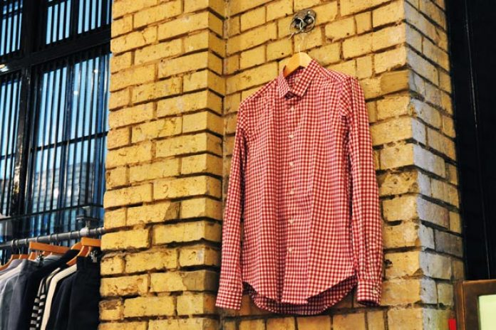 Mr. Start Gingham Slim Fit Shirt