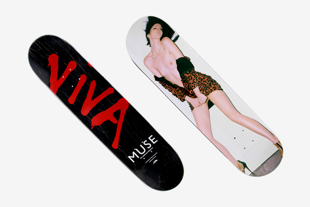 Muse Magazine x Terry Richardson x Art Print Skateboard Deck