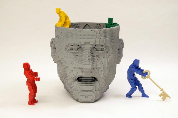"""Nathan Sawaya """"Brick by Brick"""" Exhibition NYC"""