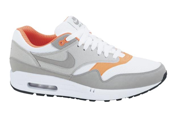 Nike 2010 Spring Air Max 1 Grey/Orange