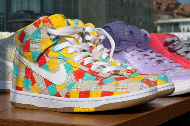 Nike 2010 Spring/Summer Patchwork Dunk Preview