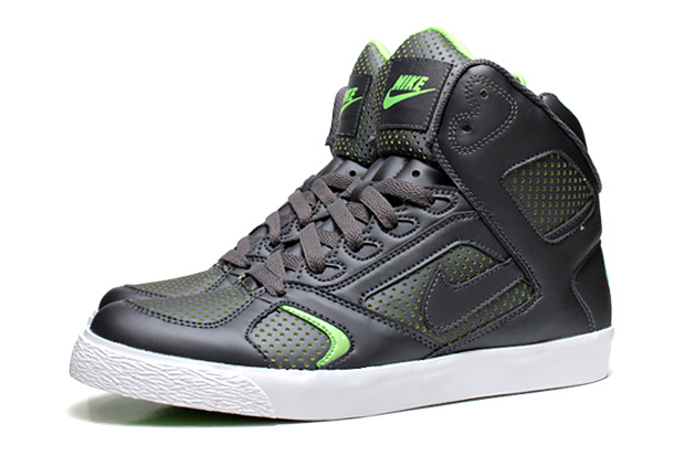 Nike Auto Flight 2010 Spring Dark Grey/Electric Green