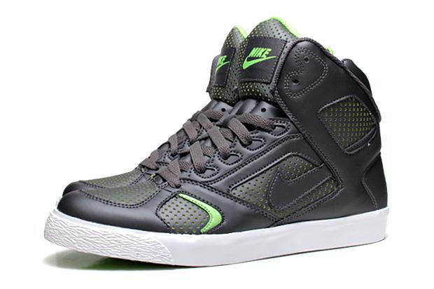 Nike Auto Flight 2010 Spring Dark Grey/Electric Green