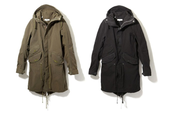 nonnative C/P Ripstop Stretch Trooper Coat