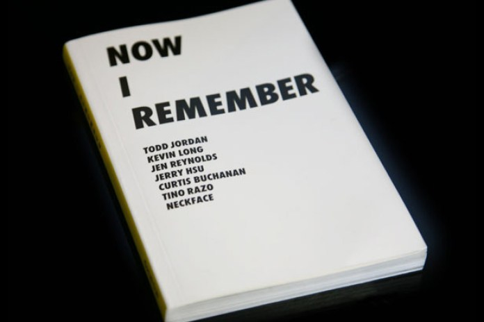 Now I Remember Book