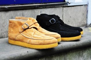 Opening Ceremony 2010 Spring/Summer Suede Strap Boot