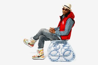 "Pharrell Williams x Galerie Emmanuel Perrotin ""The Tank Chair"" Exhibition"