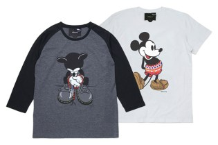rehacer x Disney 7th Anniversary Mickey Mouse Tees