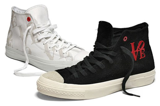 Robert Indiana x Converse (PRODUCT) RED Chuck Taylor All Star High