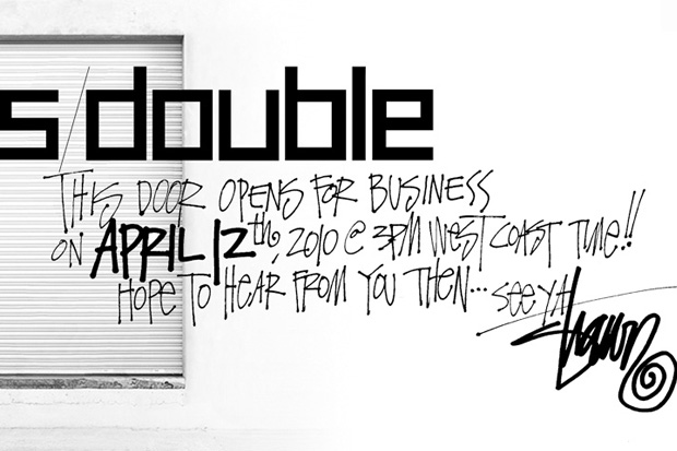 S/DOUBLE Online Store Opening