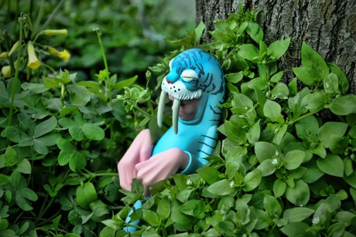 "Upper Playground x Sam Flores ""Blue Wyger"" Figure"