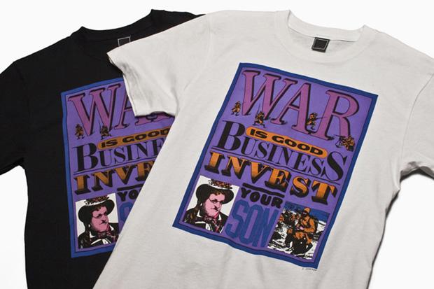 Seymour Chwast x Freshjive 2010 Spring Collection T-Shirts