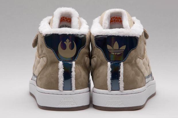 "Stars War x adidas Originals by CLOT ""Hoth"" Skate High Preview"