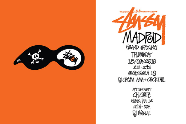 Stussy Madrid Store Opening