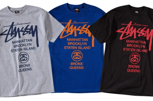 Stussy New York World Tour Tees