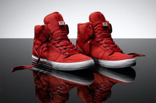 Supra Red Canvas Series