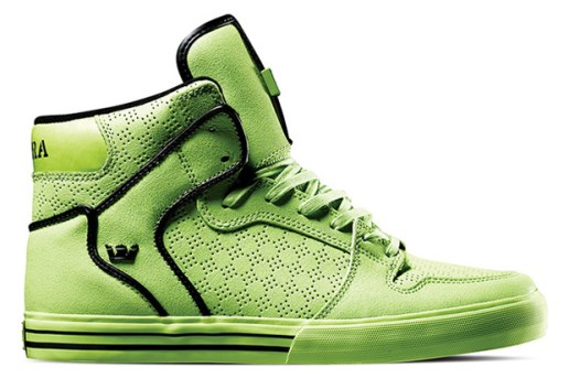 "Supra TUF 2010 Spring/Summer Collection ""Tennis Ball"" Vaider"