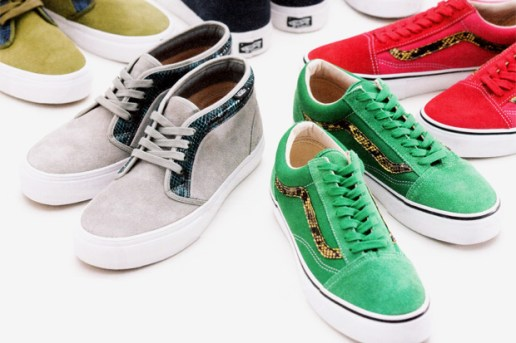 Supreme x Vans Chukka Boot and Old Skool Collection