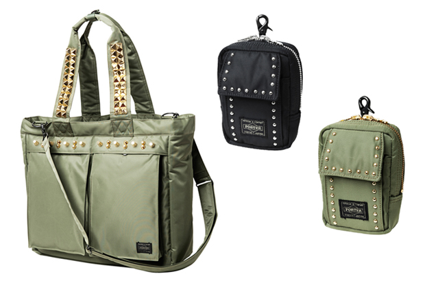 swagger x Porter 2010 Spring/Summer Collection M.E.T.A.L. Pouch / Tote Bag